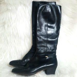 Salvatore Ferragamo Vintage Knee High Heeled Boots